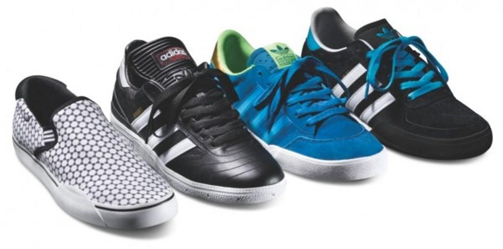 Adidas Luncurkan Sepatu Skateboard Bergaya Sepakbola