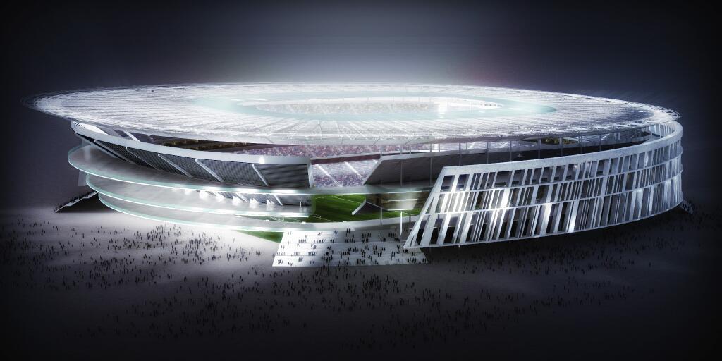 Roma Akan Segera Membangun Stadion Baru
