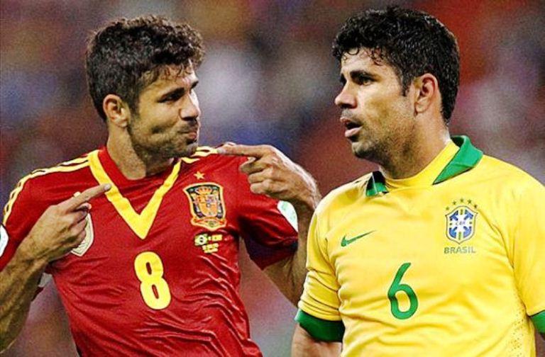 Diego Costa: Debutku Selalu Melawan Italia