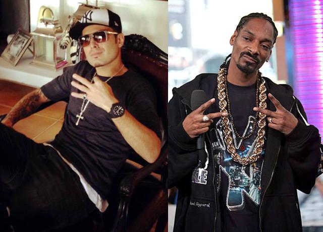 Adrian Mutu Syuting Video Klip Bareng Snoop Dogg