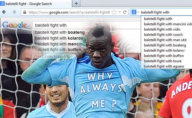 Google Siapkan Banyak Lawan Kelahi Untuk Balotelli