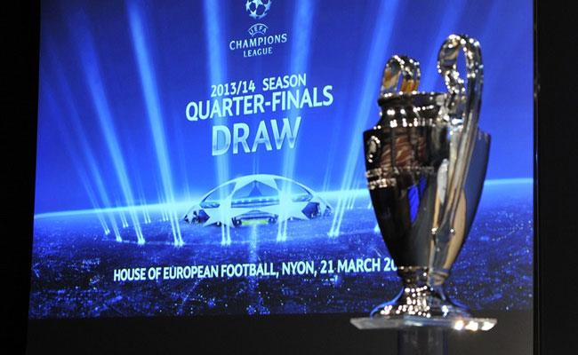 Inilah Hasil Undian Perempat Final Liga Champions 2013-2014