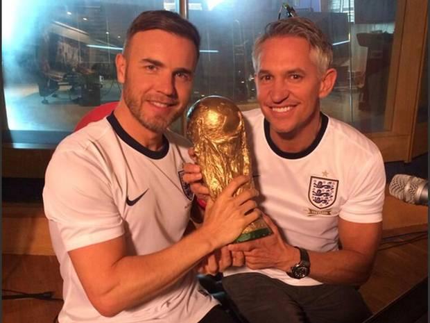Lagu Untuk Tim Nasional Inggris di Piala Dunia