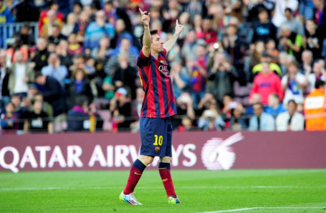 Rekor Gol dan Hadiah Sepatu Untuk Messi