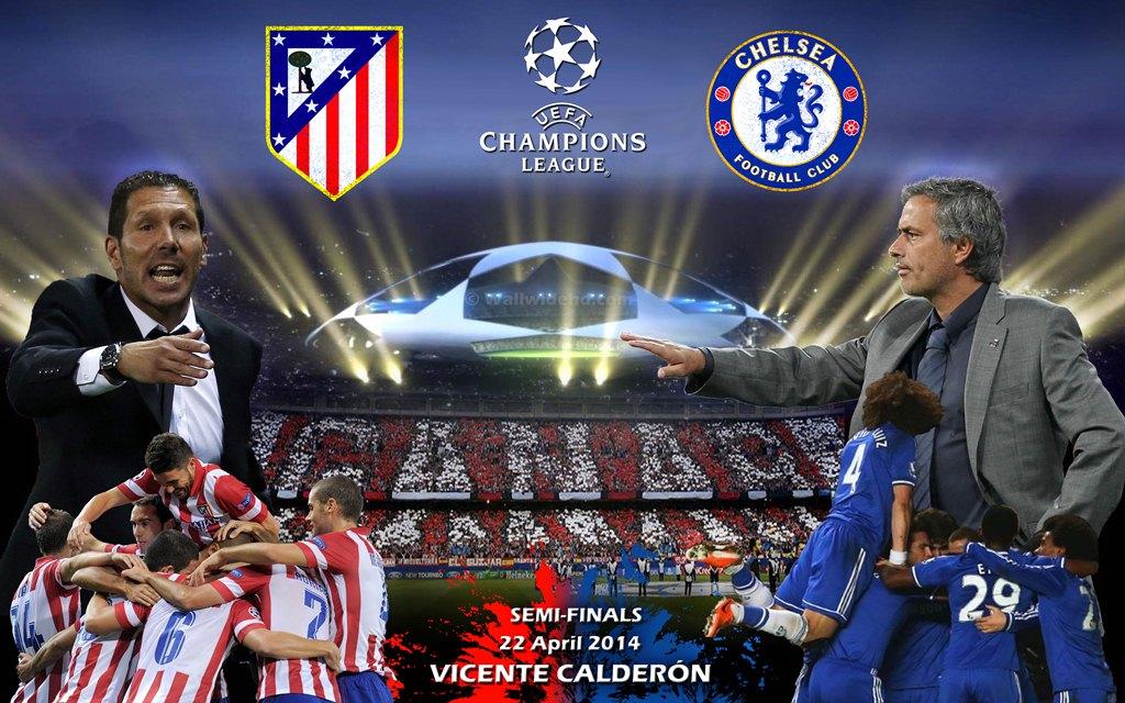 Fakta Menarik dari Atletico Madrid dan Chelsea