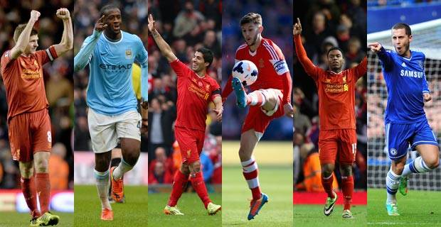 Liverpool Mendominasi Nominasi Penghargaan PFA Player of the Year