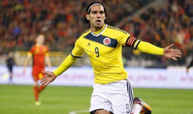 Bocah Kolombia Ini Menangis Terharu Saat Bertemu Falcao