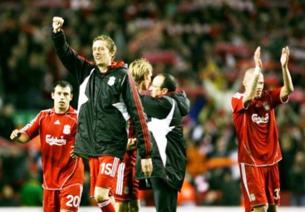On This Day 2008, Menang Dramatis atas Arsenal, Liverpool Melaju ke Semi Final Liga Champions