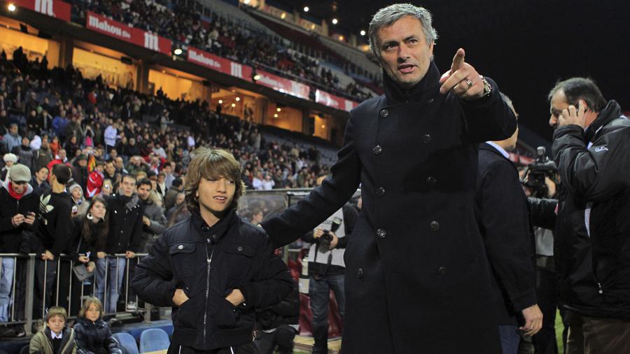 Jose Mourinho dan Surat Kecil untuk Sang Anak