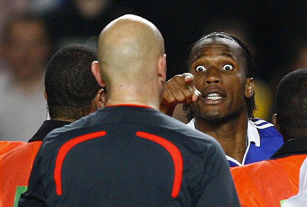 On This Day 2009, Chelsea yang Kesal Tak Mendapat Penalti