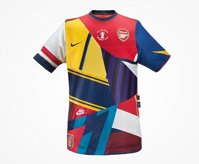 Juara Piala FA, Nike Luncurkan 'Jersey' Khusus untuk Arsenal