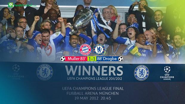 On This Day 2012, Chelsea Juara Liga Champions!