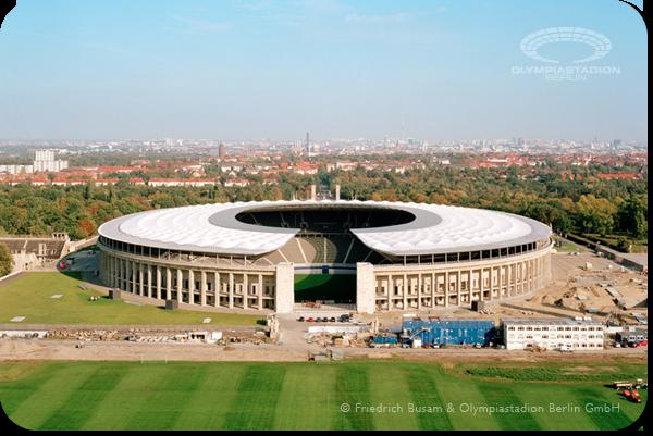 Olympiastadion Berlin, Sisa-sisa Kejayaan Adolf Hitler