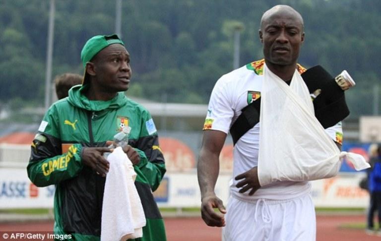 Cetak Gol Lewat Tendangan Salto, Striker Kamerun ini Gagal ke Piala Dunia