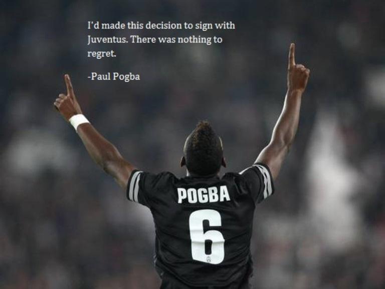 Cerita Pahit Manis Pogba Bersama Manchester United