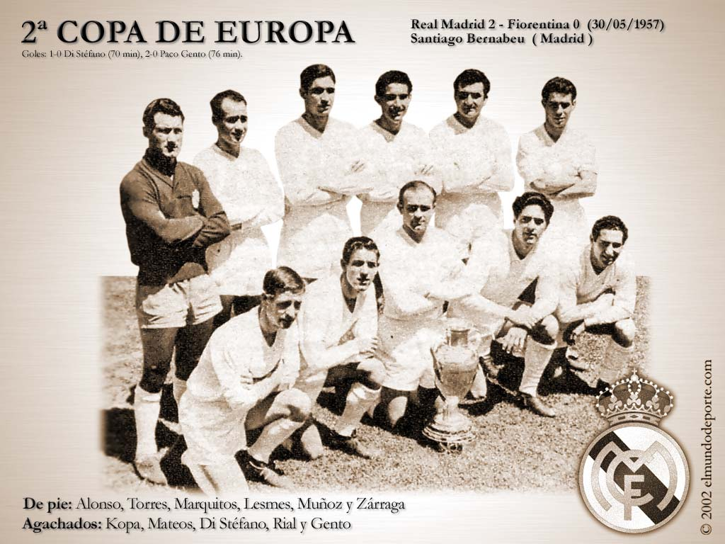 On This Day 1957, Trofi Kedua Real Madrid di Kompetisi Eropa