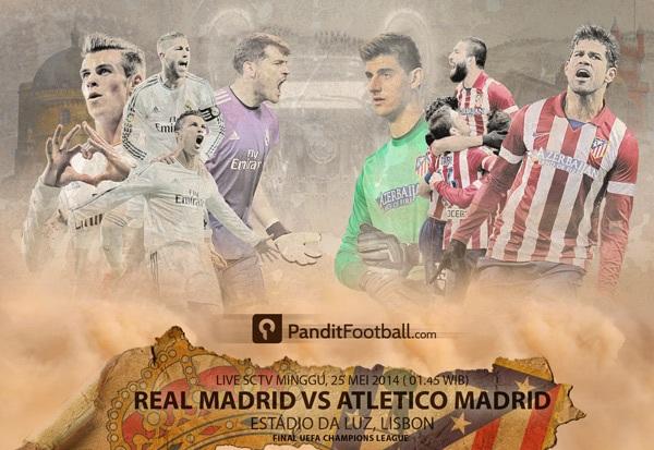 Adu Taktik Ancelotti vs Simeone