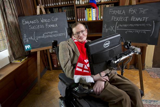 Ketika Profesor Stephen Hawking Meramal Nasib Inggris di Piala Dunia