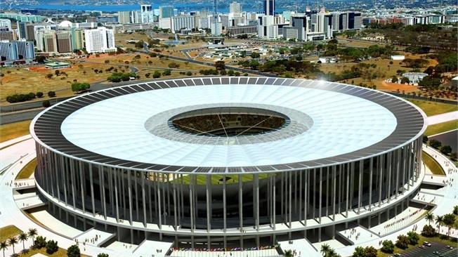Stadion Mane Garrincha dan Ironi Si Burung Kecil