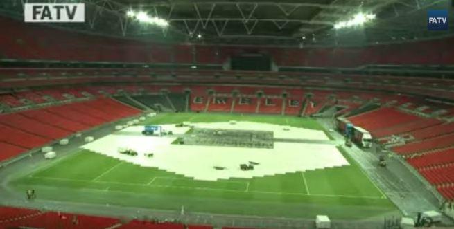 Wembley Disulap dalam Waktu Kurang dari 18 Jam