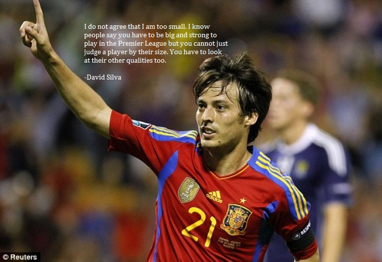 David Silva, Kentang, dan Jeruk