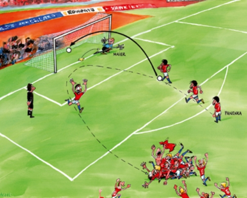 On This Day 1976, Lahirnya Penalti ala Panenka