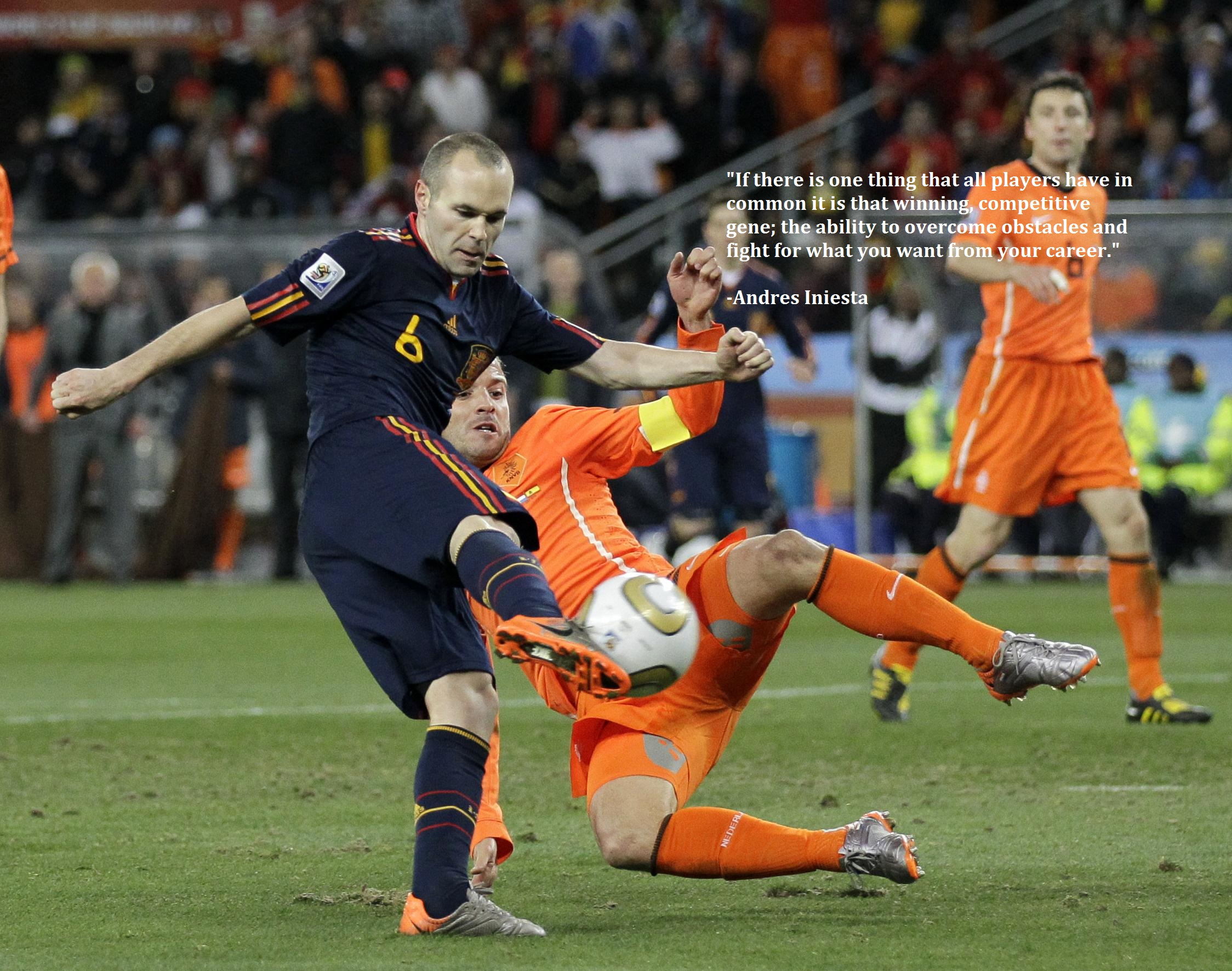 Iniesta dan Kenangan Piala Dunia 2010