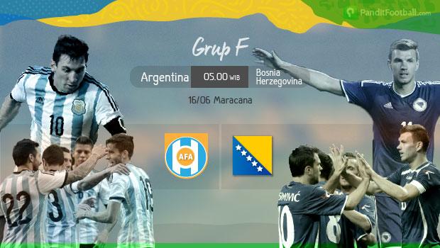 [Preview]  Argentina vs Bosnia: Pembuktian Pertama bagi Lionel Messi