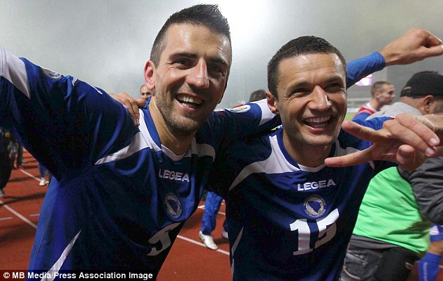 Bermain di Maracana, (Sudah) Jadi Kemenangan Bagi Bosnia