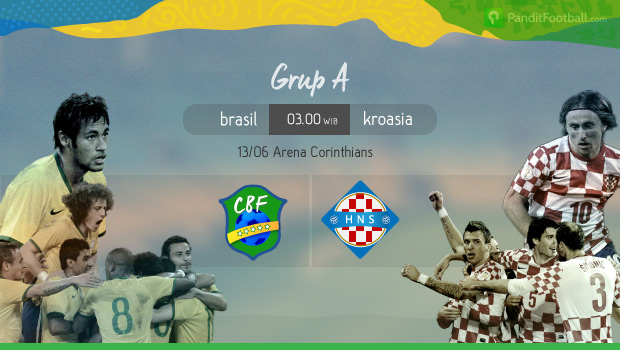 Preview: Brasil vs Kroasia