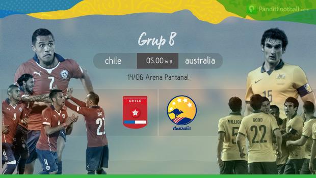 [Match Report] Chile 3 vs 1 Australia