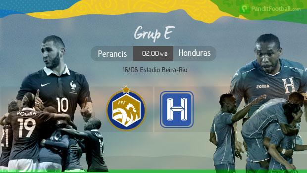[Preview] Perancis vs Honduras: Memaksimalkan Lini Tengah