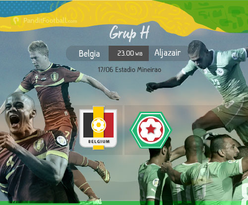 [Match Report] Belgia 2-1 Aljazair