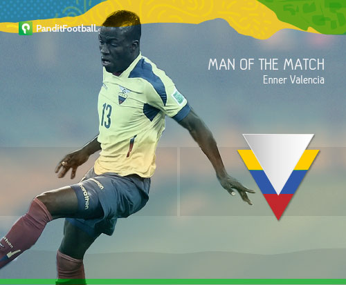 [Man of the Match] Enner Valencia