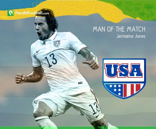 [Man of the Match] Jermaine Jones