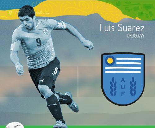 [Key Player] Luis Suarez: Mimpi Buruk Tim nasional Inggris