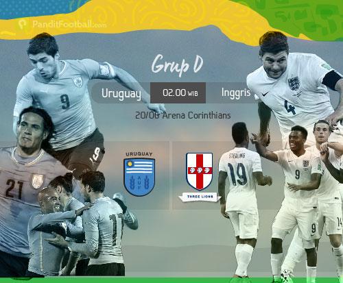 [Match Report] Uruguay 2:1 Inggris
