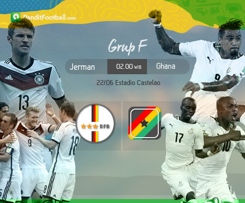 [Match Preview] Jerman vs Ghana