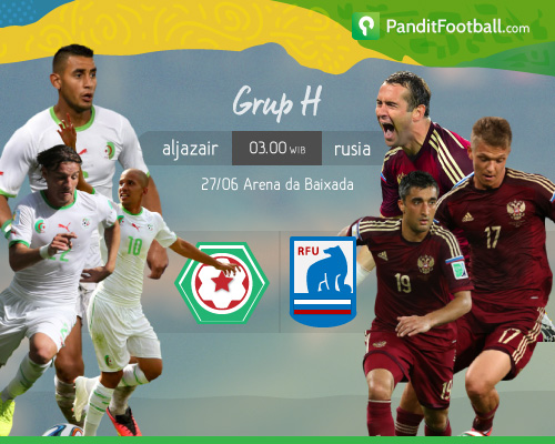 [Preview] Aljazair vs Rusia: Mampukah Don Fabio?
