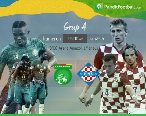 [Match Report] Kamerun 0-4 Kroasia