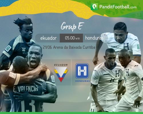 [Match Preview] Ekuador vs Honduras: Adu Serang Lewat Sayap