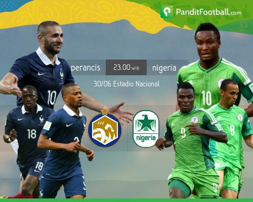 Preview Perancis vs Nigeria