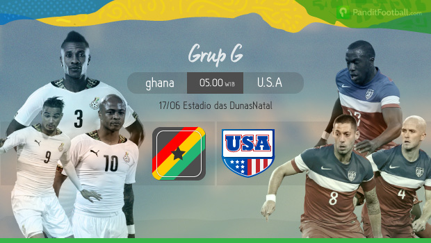 [Match Report] Ghana 1 vs 2 Amerika Serikat