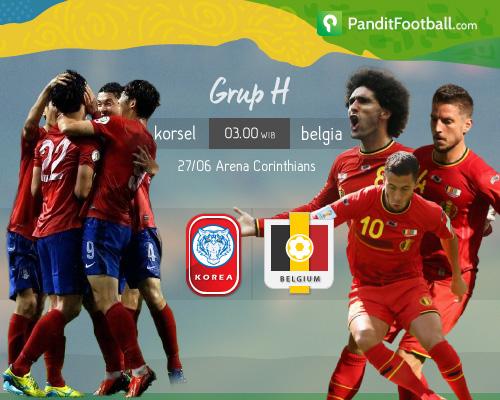 [Match Preview] Korea Selatan vs Belgia: Pertarungan Sengit di Lini Tengah