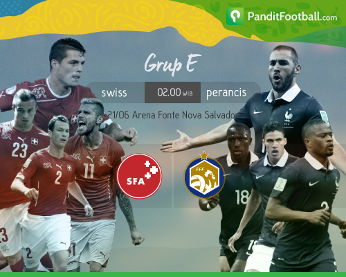 [Match Report] Swiss 2-5 Perancis