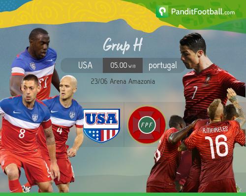 [Match Preview] Amerika Serikat vs Portugal