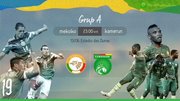 Preview: Meksiko vs Kamerun