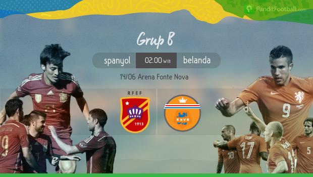 [Preview] Spanyol vs Belanda:  Belanda yang Kini Mengandalkan Serangan Balik