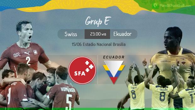 [Match Report] Swiss 2 vs 1 Ekuador