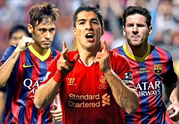 Bagaimana Barcelona Menyatukan Messi, Neymar, dan Suarez